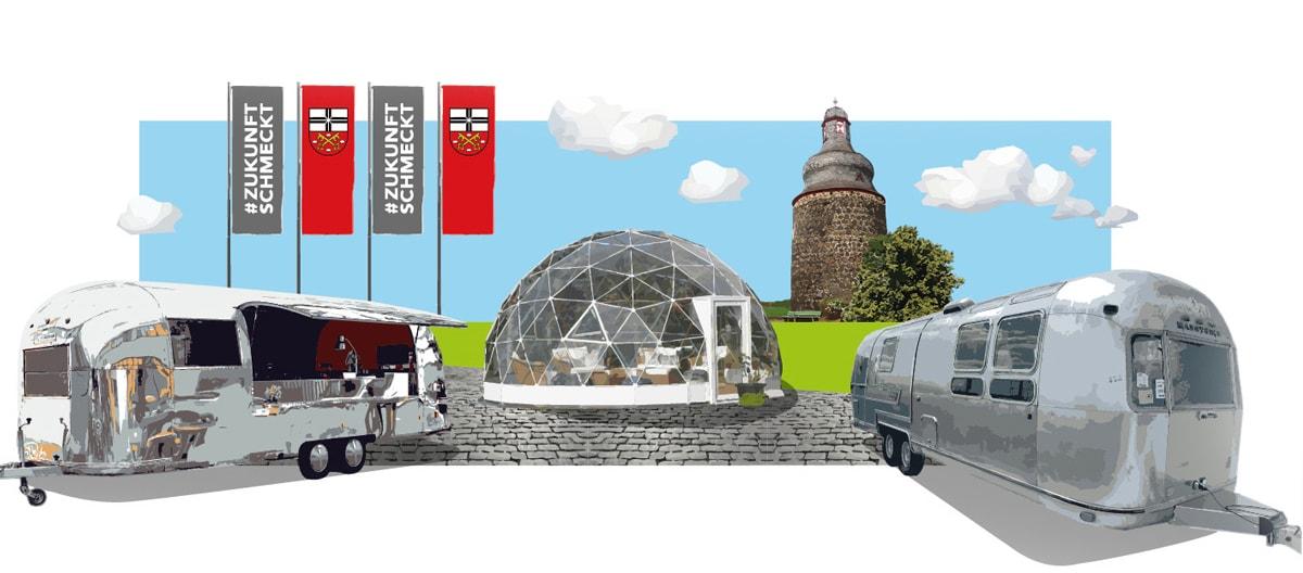 Tourstopp der #ZukunftSchmeckt-Tour in Köln auf der Anuga 2021.